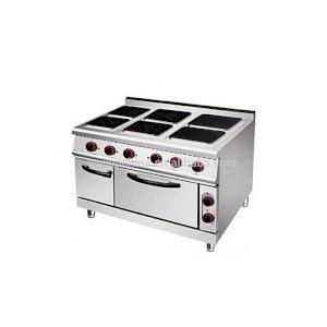 Generic New Industrial Electric 6 Hot Plate Burner With Oven